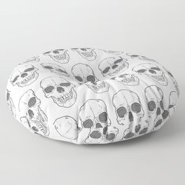 Big Ol' Skull Floor Pillow