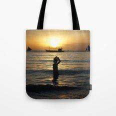 a drop in the ocean Tote Bag