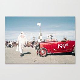 The Race of Gentlemen 199B Canvas Print