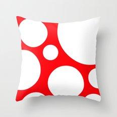 Super Mushroom Throw Pillow