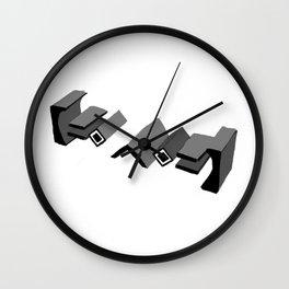 3D worldsmoji Wall Clock