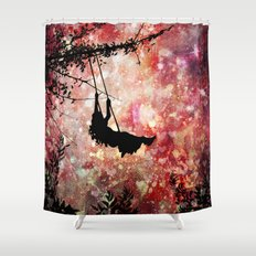 Wild Hearts (Can't Be Broken) Shower Curtain