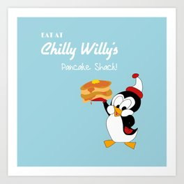 Chilly Willy Art Print