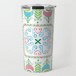 Hungarian background design Travel Mug