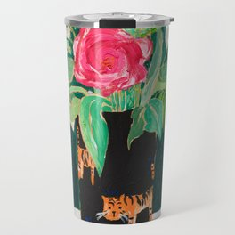 Tiger Vase Travel Mug