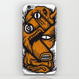 Le mangeur - the print! iPhone Skin