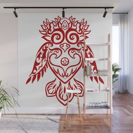 Forest Owl Wall Mural