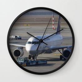 Lufthansa Airbus A320-211 Wall Clock