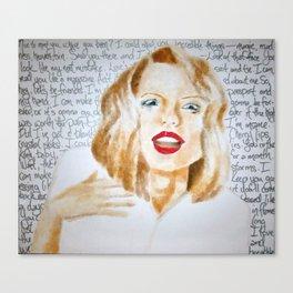 Swift Love Canvas Print
