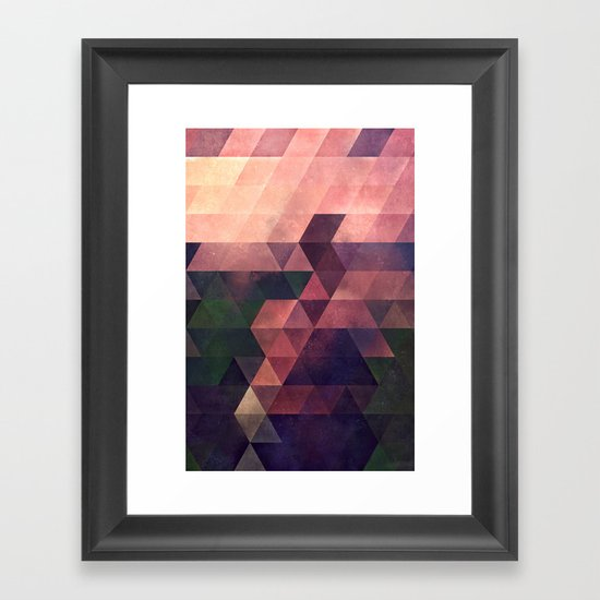 fyt yrms Framed Art Print
