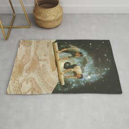 The big reveal Rug