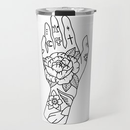 hand tattoo Travel Mug