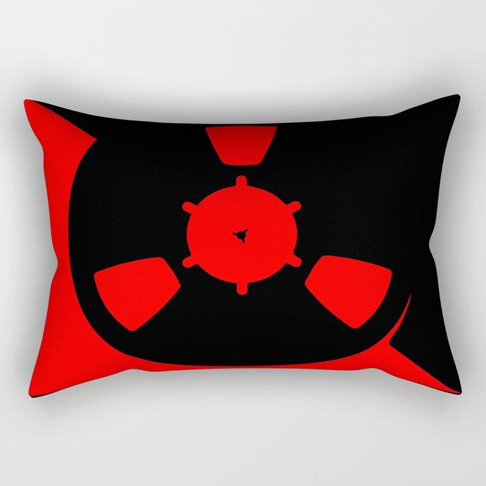 Reel of RecordingTape Rectangular Pillow