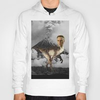christopher walken Hoodies featuring ChristopheRAPTOR Walken - Christopher Walken Velociraptor by Kalynn Burke