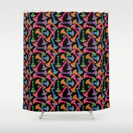 I Dream Of Bottles Shower Curtain