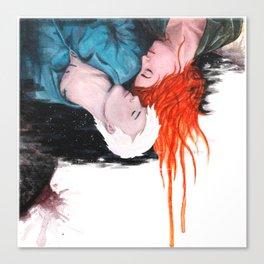 Lovelier when we fall Canvas Print