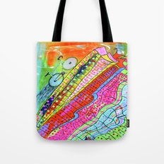 HAPPY WHEELS Tote Bag