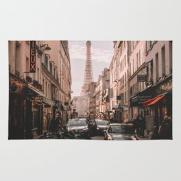 Vintage Paris, France (Color) Rug