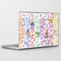 digimon Laptop & iPad Skins featuring Digimon 15th Anniversary by AbigailC