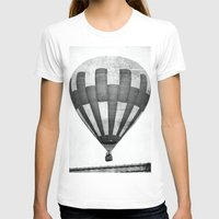 hot air balloon T-shirts featuring Hot Air Balloon by Rose Etiennette