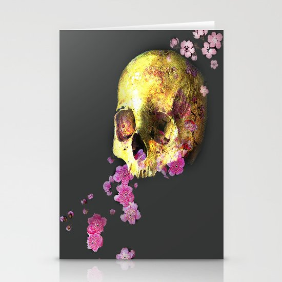 SKULL 3 Stationery Cards