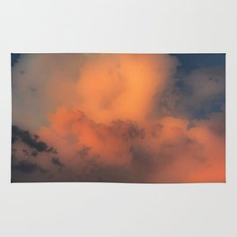 Cloud Combustion Rug