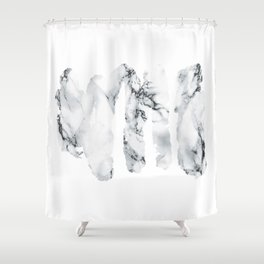 Marble stains Shower Curtain