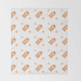 Hamsters Throw Blanket