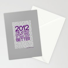 2012...It Was Emotional Stationery Cards
