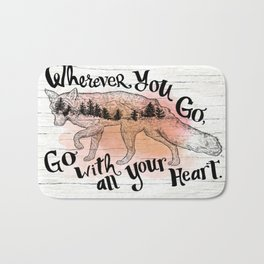 Wherever You Go Bath Mat
