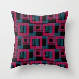 Geometric pattern . Leila . Throw Pillow