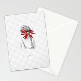 Flor de la Noche Bueno Stationery Cards