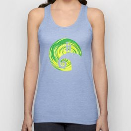 before night rick morty Unisex Tank Top