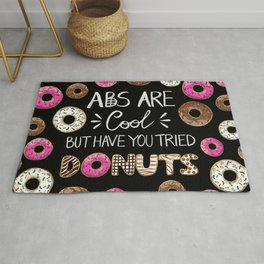 Abs Are Cool But Have You Tried Donuts Rug
