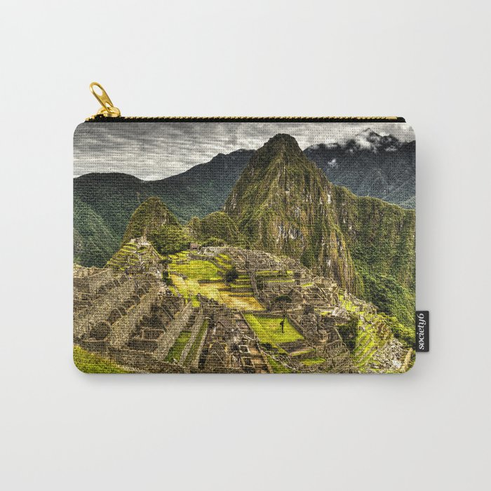 Machu Picchu in Hi-Res HDR landscape photo Carry-All Pouch