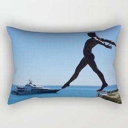 Touch The Yacht Rectangular Pillow