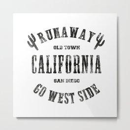 California Runaway Metal Print