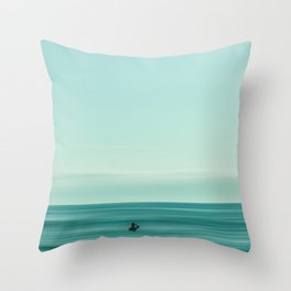 turquoise waters #buyart #society6 Throw Pillow