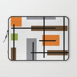 Mid Century Modern Cubicle Art Laptop Sleeve