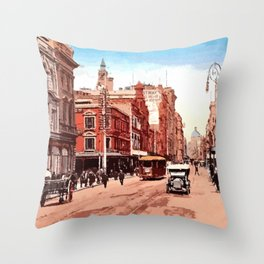 1900 Sidney George Street Throw Pillow