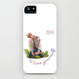 BTS Love Yourself Answer Design - RM iPhone Case