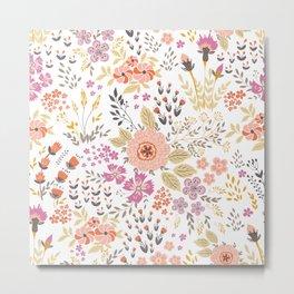 beautiful flower power Metal Print