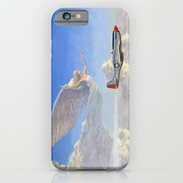Racing the Wind iPhone Case