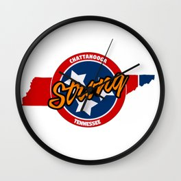 Chattanooga Strong Wall Clock