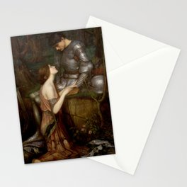 Lamia by John Waterhouse Stationery Cards