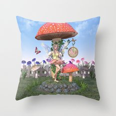 Countdown to Summer Throw Pillow