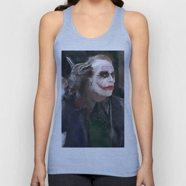The Party Crasher (the joker) Unisex Tank Top