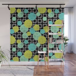 Fashion trends , polka dot 3 Wall Mural