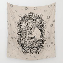 Cosmic Lover Wall Tapestry