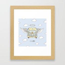 heavan Framed Art Print